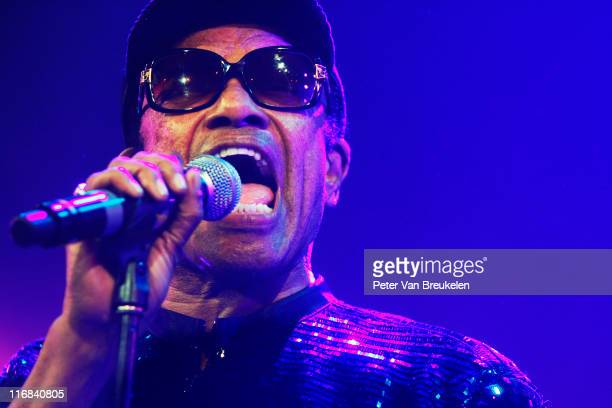 Bobby Womack performs on stage during The Hague Jazz Festival at Kyocera Stadium on June 17 2011 in The Hague Netherlands