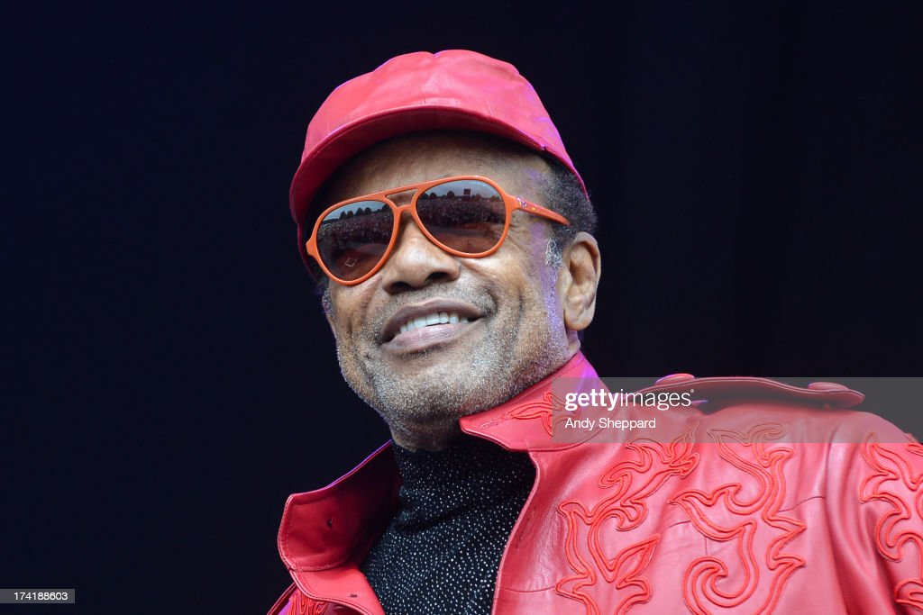 Bobby Womack performs on stage on Day 4 of Latitude Festival 2013 at Henham Park Estate on July 21, 2013 in Southwold, England.