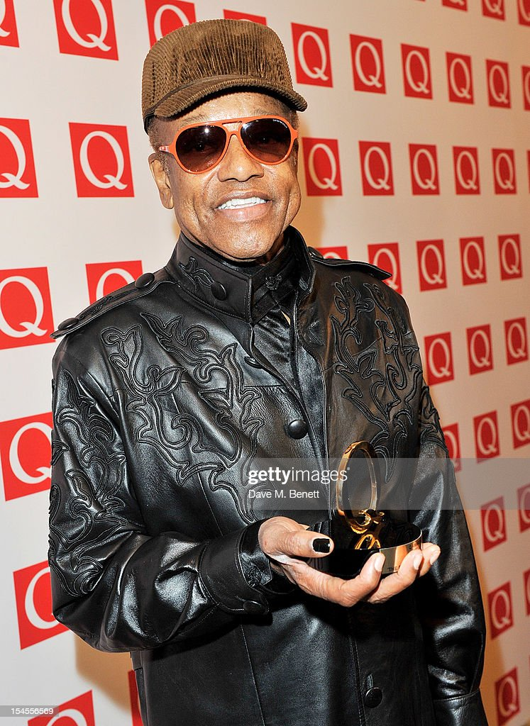 The Q Awards 2012 - Press Room