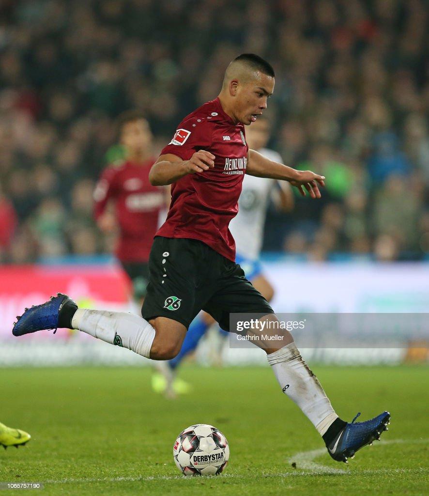 Hannover 96 v VfL Wolfsburg - Bundesliga : News Photo