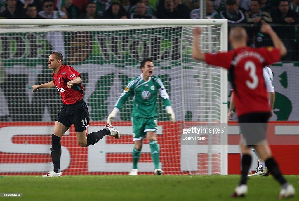 VfL Wolfsburg v Fulham - UEFA Europa League : News Photo