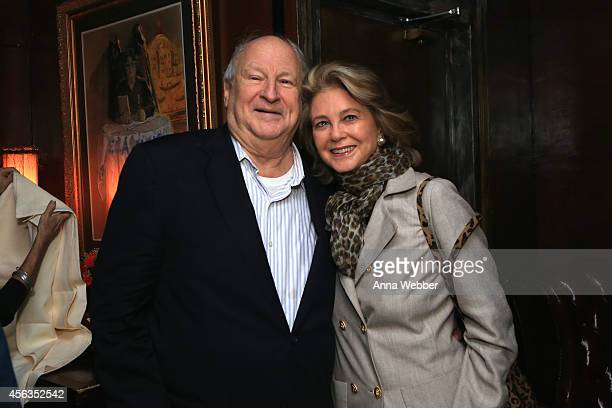 Bobby Zarem and Maria Cooper Janis attend Bobby Zarem's Birthday at The Cutting Room on September 29, 2014 in New York City.