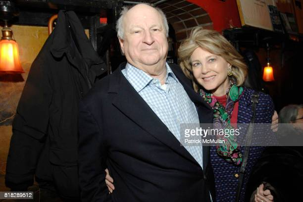 Bobby Zarem and Maria Cooper Janis attend BOBBY ZAREM's Going Away Cocktail Party at Elaine's on February 24th 2010 in New York City