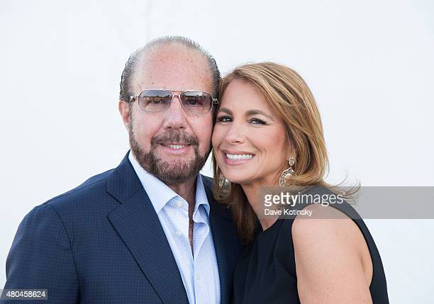 Bobby Zarin and Jill Zarin attend the Samuel Waxman Cancer Research Foundation 11th Annual A Hamptons Happening on July 11 2015 in Southampton New...