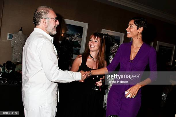 Bobby Zarin, Jill Zarin and Nicole Murphy attend the 2011 Starlight Children's Foundation's Design and Wine Fundraiser at Kathy Hilton's residence on...
