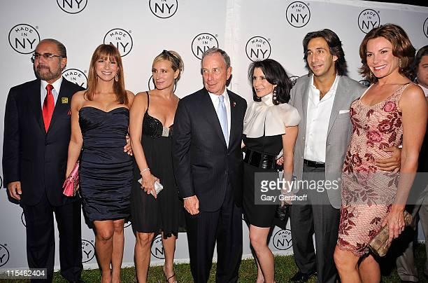Bobby Zarin Jill Zarin Sonja Morgan New York City Mayor Michael R Bloomberg Media Film Commissioner Katherine Oliver Jacques Azoulay and LuAnn de...