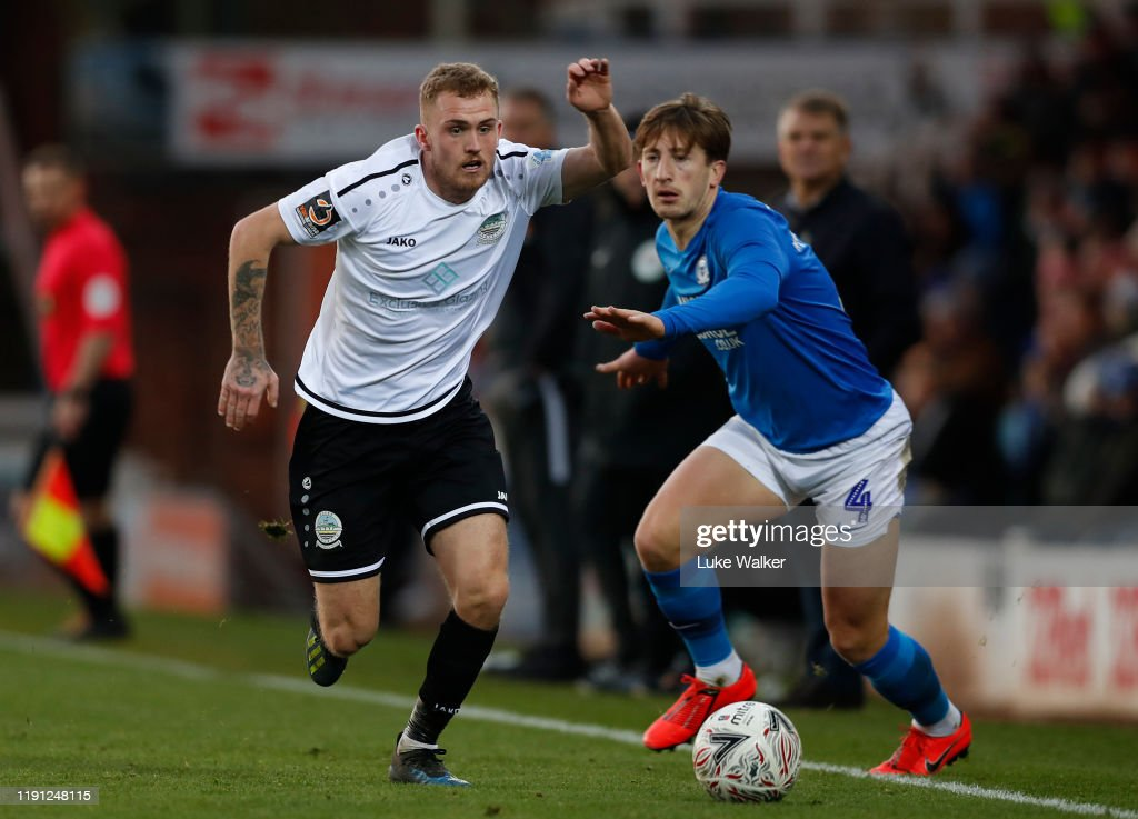 Peterborough v Dover - FA Cup Second Round : News Photo