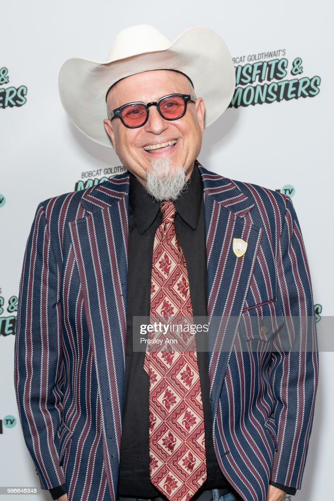 Bobcat Goldthwait attends the premiere of truTV's 'Bobcat Goldthwait's Misfits & Monsters' at Hollywood Roosevelt Hotel on July 11, 2018 in Hollywood, California.