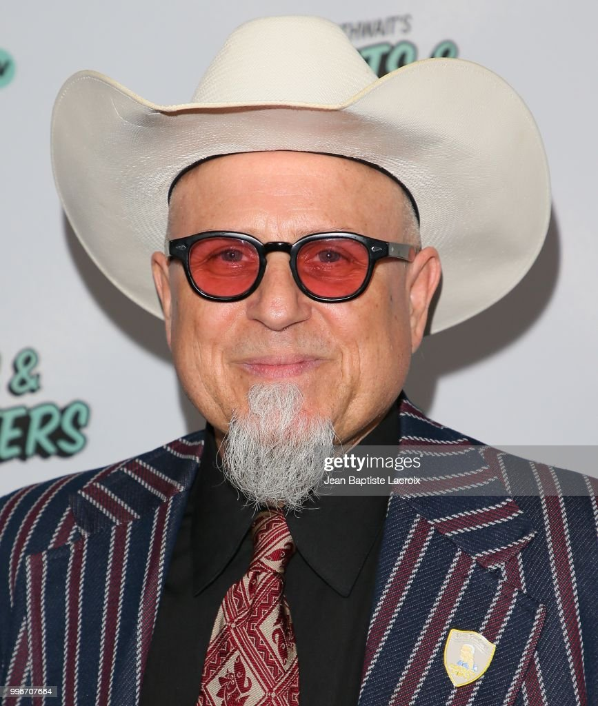 Bobcat Goldthwait attends the premiere of truTV's 'Bobcat Goldthwait's Misfits & Monsters' held at Hollywood Roosevelt Hotel on July 11, 2018 in Hollywood, California.