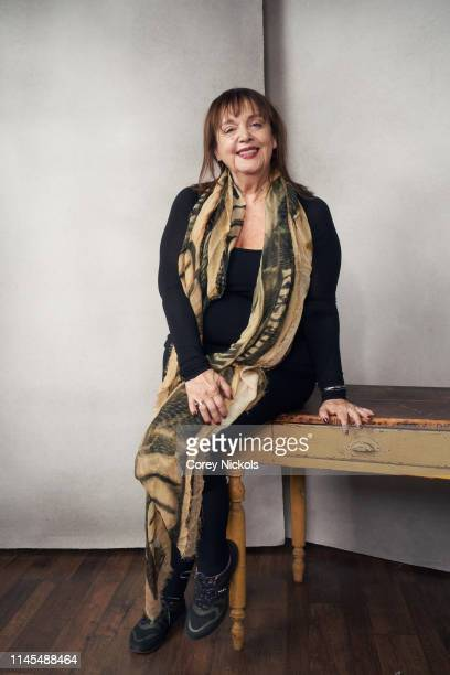Bobette Buster of the film 'Making Waves The Art of Cinematic Sound' poses for a portrait during the 2019 Tribeca Film Festival at Spring Studio on...