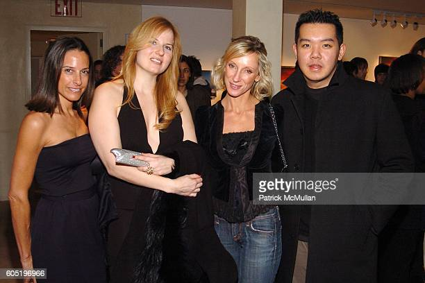 Bobette Cohen Sandra Ballentine Jackie Astier and Jim Shi attend LOU REED Photography Exhibition hosted by HERMES at The Gallery at Hermes on January...