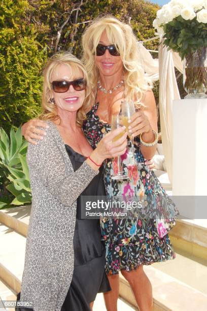 Bobi Leonard and Cindy Landon attend FARAONE MENNELLA and BARBARA BALDIERI MARCH host a benefit for March to the Top in Malibu at Private Residence...