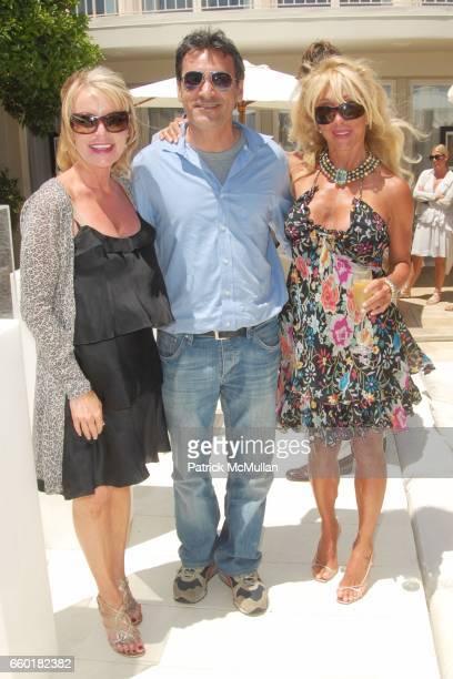 Bobi Leonard John Sleiman and Cindy Landon attend FARAONE MENNELLA and BARBARA BALDIERI MARCH host a benefit for March to the Top in Malibu at...