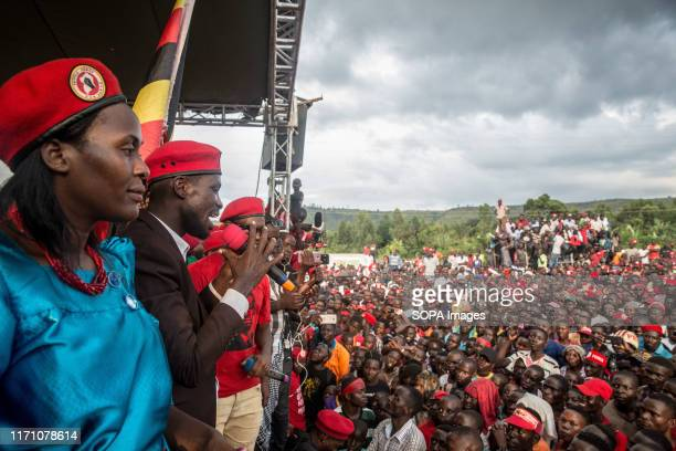 Bobi Wine, aka Robert Kyagulanyi, campaigns in Hoima Wine aka Robert Kyagulanyi, campaigned in Hoima ahead of a by-election. It was the first time...