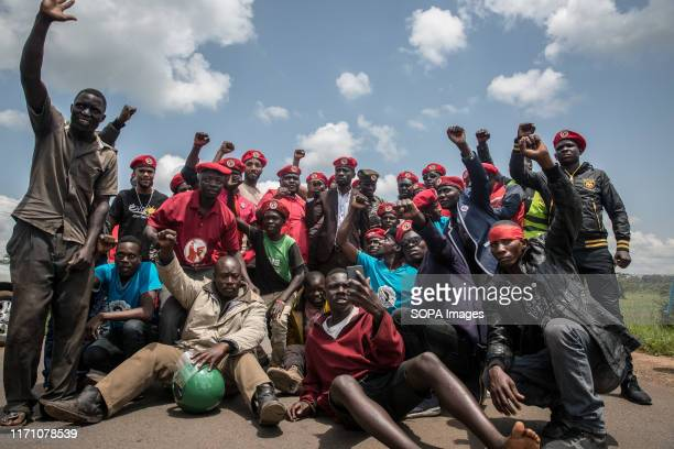 Bobi Wine's team of volunteer supporters pictured on the way to Hoima. Wine aka Robert Kyagulanyi, campaigned in Hoima ahead of a by-election. It was...