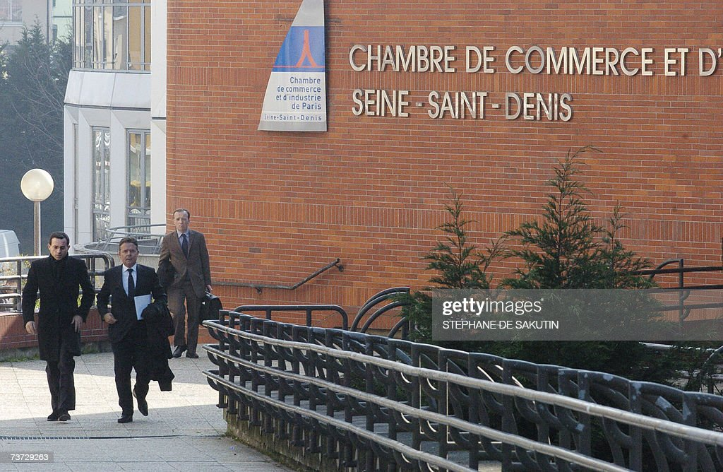 French Talk Show Host JeanLuc Delarue Arrives With His Lawyer Kiril  Bougartchev At The Bobigny Court