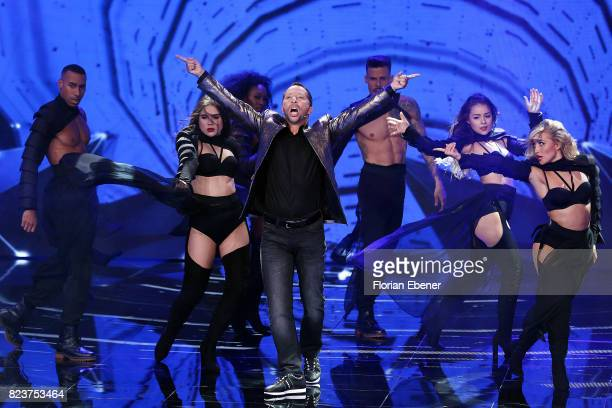 Bobo during the 1st show of the television competition 'Dance Dance Dance' on July 12 2017 in Cologne Germany The first episode of the show will be...