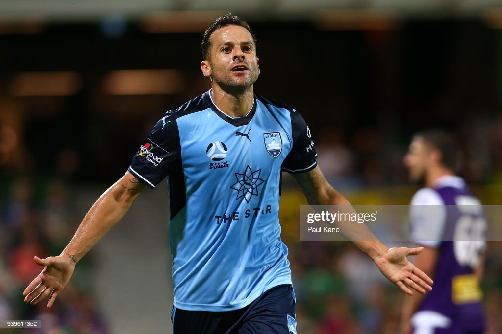 A-League Rd 25 - Perth v Sydney