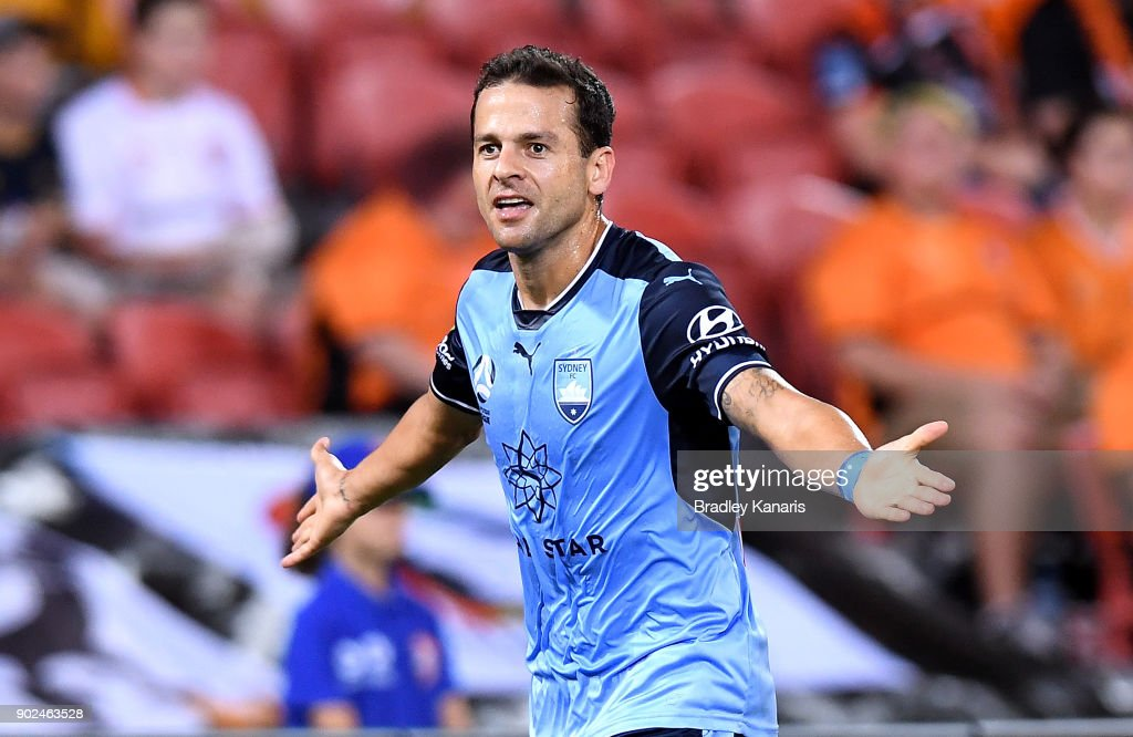 A-League Rd 15 - Brisbane v Sydney