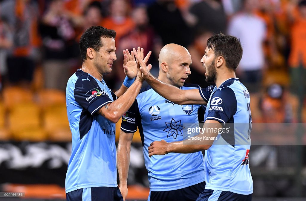 A-League Rd 15 - Brisbane v Sydney : News Photo