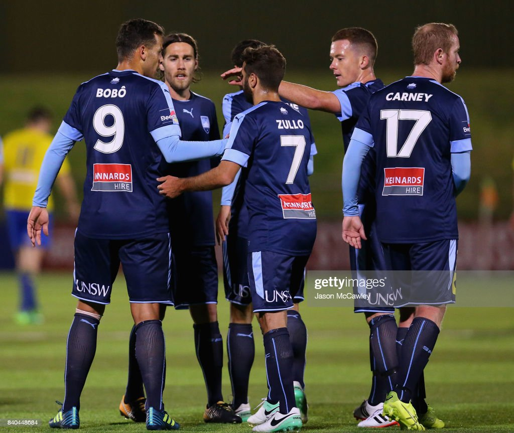 FFA Cup Round of 16 - Bankstown Berries v Sydney FC