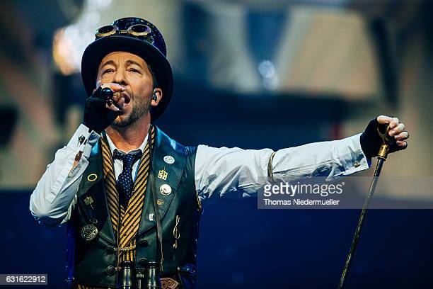 Bobo performs at his premiere show of the DJ Bobo 'Mystorial' Tour 2017 at Europapark on January 13 2017 in Rust Germany