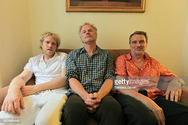 Bobo Stenson, Anders Jormin, Jon Falt pose in a portrait session during Umbria Jazz Festival on July 13, 2010 in Perugia, Italy.