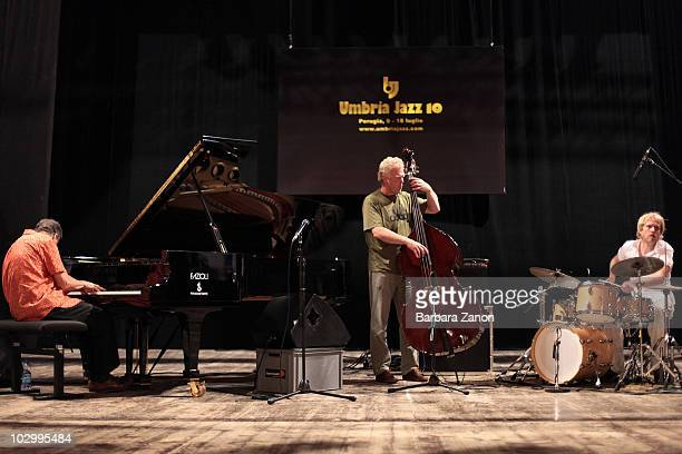 Bobo Stenson Trio perform on stage during Umbria Jazz Festival on July 13, 2010 in Perugia, Italy.