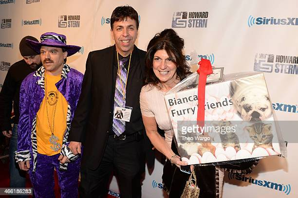 Bobo the Businessman and Mariann from Brooklyn attend Howard Stern's Birthday Bash presented by SiriusXM produced by Howard Stern Productions at...