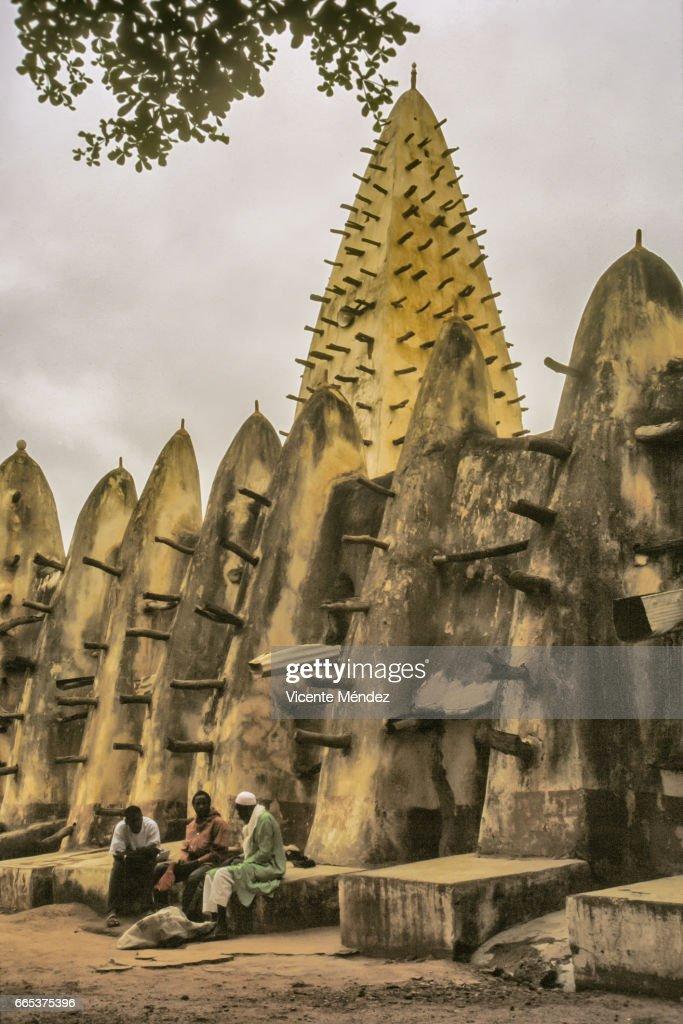 Bobo-Dioulasso Mosque (Burkina Faso) : Stock Photo