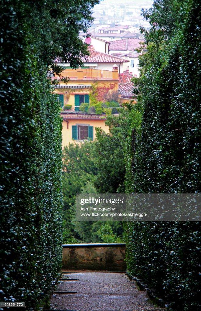 Boboli Gardens Florence Italy Stock Photo | Getty Images