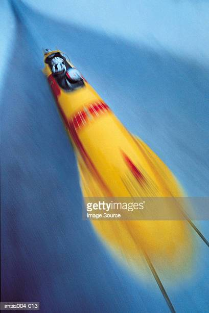 bobsled - bobsleigh stock pictures, royalty-free photos & images