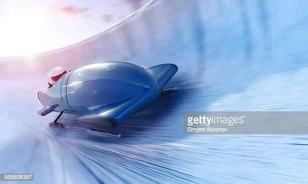 bobsleigh team - wintersport stock-fotos und bilder