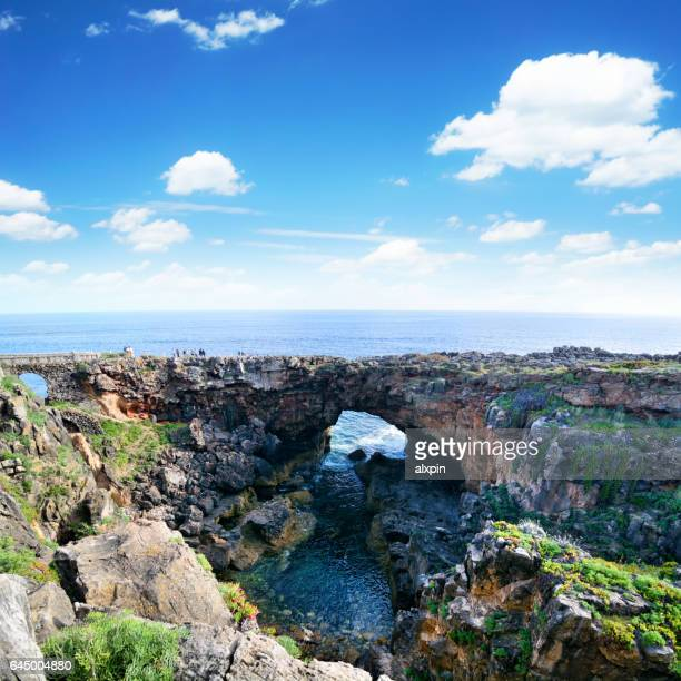 boca do inferno, portugal - cascais stock photos and pictures