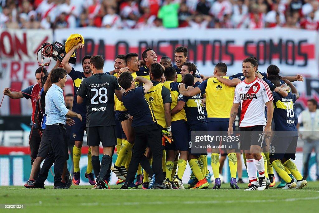 River Plate v Boca Juniors - Argentine Primera Division : Nachrichtenfoto