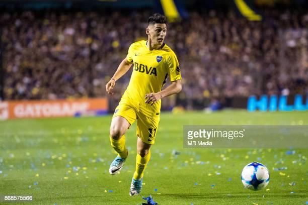 OCTOBER 29 Boca Juniors Cristian Espinoza during the Superliga Argentina match between Boca Juniors and Belgrano at Estadio Alberto J Armando'n 'n