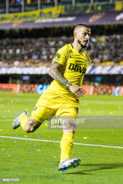 OCTOBER 29 Boca Juniors Darío Benedetto during the Superliga Argentina match between Boca Juniors and Belgrano at Estadio Alberto J Armando'n 'n