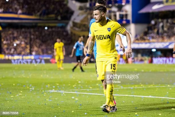 OCTOBER 29 Boca Juniors Nahitan Nández during the Superliga Argentina match between Boca Juniors and Belgrano at Estadio Alberto J Armando'n 'n