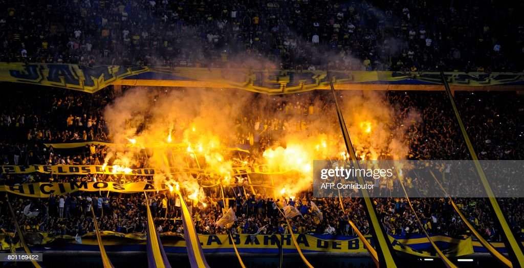 FBL-ARGENTINA-BOCA-UNION : News Photo