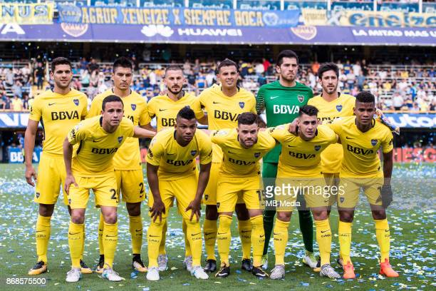 OCTOBER 29 Boca Juniors Wílmar Barrios Boca Juniors Darío Benedetto Boca Juniors Edwin Cardona Boca Juniors Frank Fabra Boca Juniors Paolo Goltz Boca...