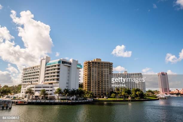 Boca Raton cityscape, USA