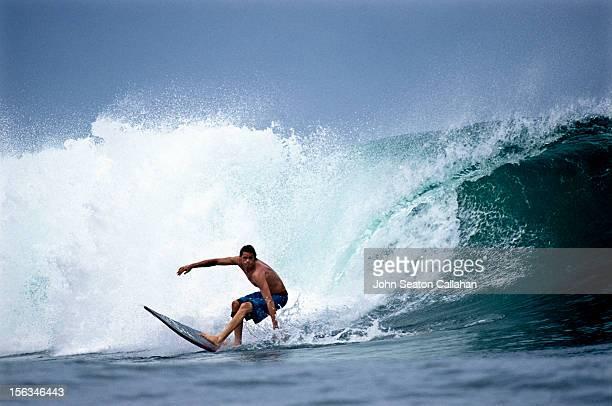 Bocas del Toro, Isla Carinero, surfing.