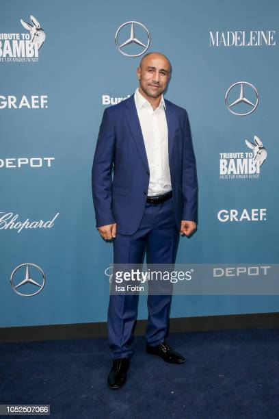 Bocing champion Arthur Abraham during the Tribute To Bambi at Kraftwerk Mitte on October 18 2018 in Berlin Germany