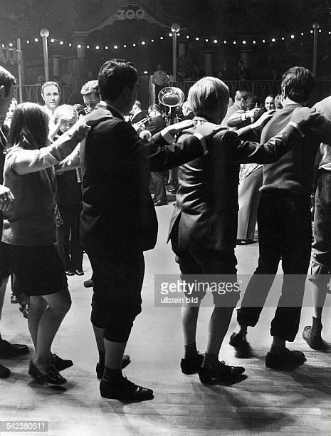 Bockbierfest im Berliner Sportpalast 1970