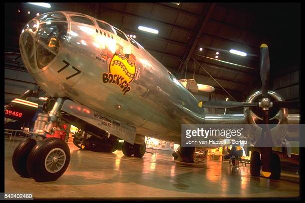 Bockscar the B29 that dropped the Nagasaki ABomb at the Air Force Museum