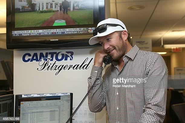 Bode Miller attends Annual Charity Day Hosted by Cantor Fitzgerald and BGC at Cantor Fitzgerald on September 11 2014 in New York City