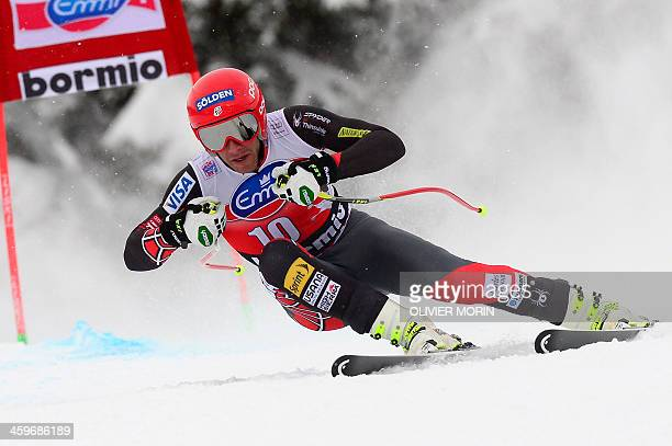 US Bode Miller competes during the FIS Alpine Skiing World Cup Men's Downhill on December 29 2013 in Bormio AFP PHOTO OLIVIER MORIN