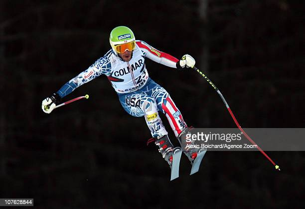 Bode Miller of the USA during the Audi FIS Alpine Ski World Cup Men's Downhill Training on December 16 2010 in Val Gardena Italy