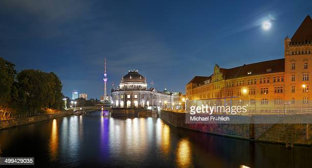 CONTENT] Bode Museum in Berlin with view on the Spree River