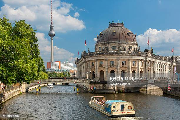 bode museum, museum island (museumsinsel), berlin, germany - berlin stock pictures, royalty-free photos & images